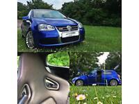 Volkswagen Golf 3.2 V6 4Motion R32 BLUE RECARO BUCKET SEATS MK5 3dr