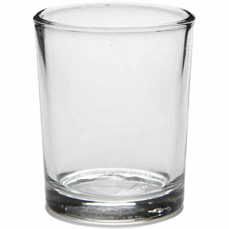 Glass+Tea+Light+%2F+Votive+Candle+Holder+-+Small+Straight