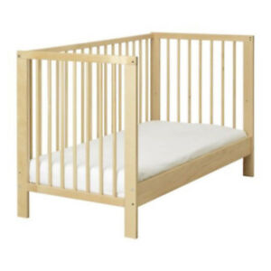 IKEA Gulliver Toddler Bed, Birch Color