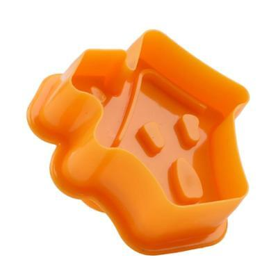 4PCS Halloween Cooking Cutter Plunge Biscuit Plastic Cookie Cake Decor Mold SL3 (Halloween Biscuits Decoration)