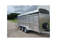 new 14 x 6 Indespension livestock trailers - SAVE £500+VAT OF THE R.R.P