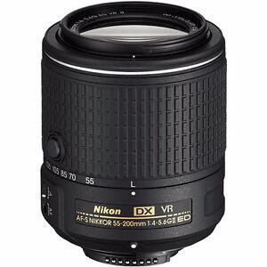 Brand new lens Nikon AF-S DX 55-200mm F4-5.6G ED VR