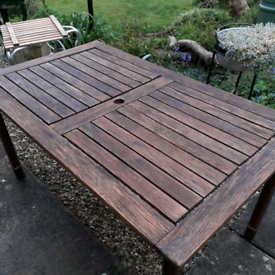 Teak Garden Dining Table