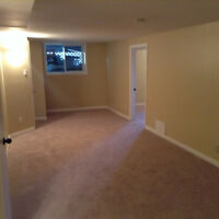 Marda loop large 2 bedroom basement  utilities NOT included.