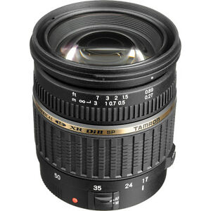 Tamron lens 17-50mm f/2.8 XR Di-II LD Aspherical [IF] for Nikon