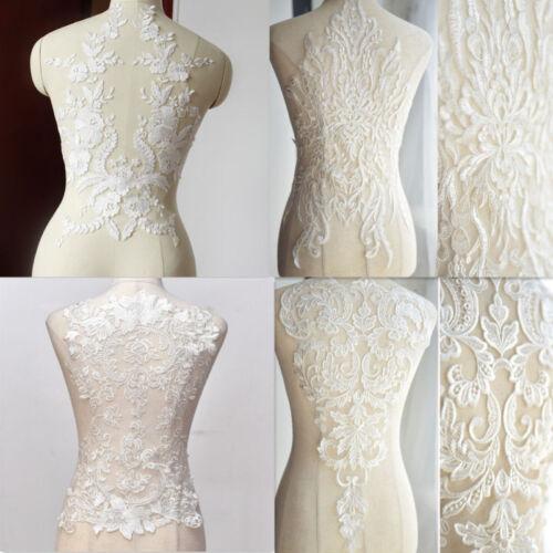 Hochzeit Braut Kleid Spitzen-Kragen Stickereien Ausschnitt Nähen Applikation
