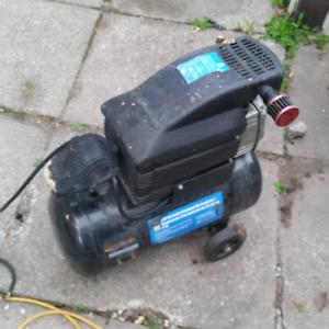 8 gallon air compressor