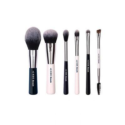 [CORINGCO] Marine Blue Make-up Brush Collecion 6p - BEST Korea Cosmetic
