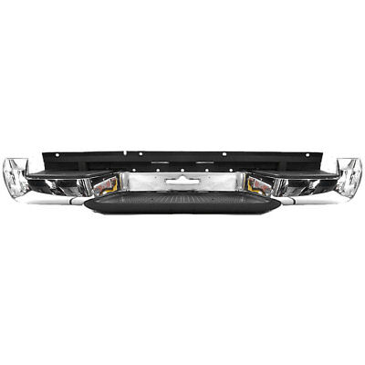 Rear Bumper Chrome With Brackets For VW Volkswagen Amarok 4x4 2010-2016