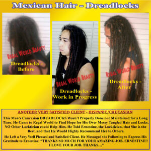 DREADLOCKS -START UP ADD-ON, EXTENSIONS, MAINTENANCE & REPAIRS