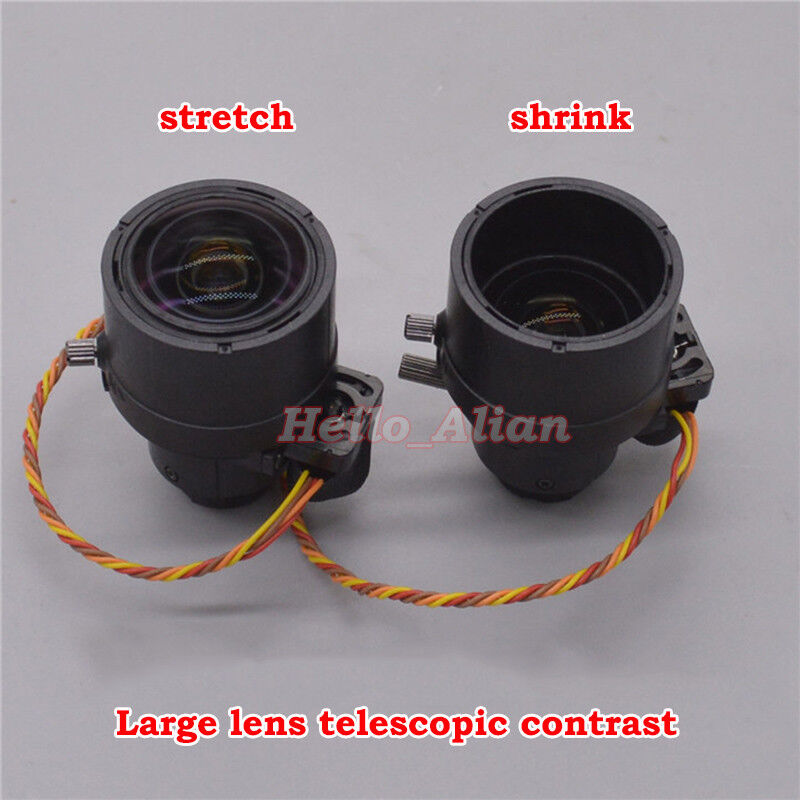4-Wire Stepper Motor DV Camera Lens Viewfinder Lens Optical Lens Camera Shutter