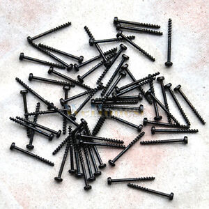 300-pcs-ultra-slim-Mini-Tiny-Black-Self-Tapping-Track-Screws-1-2mm-x-12mm