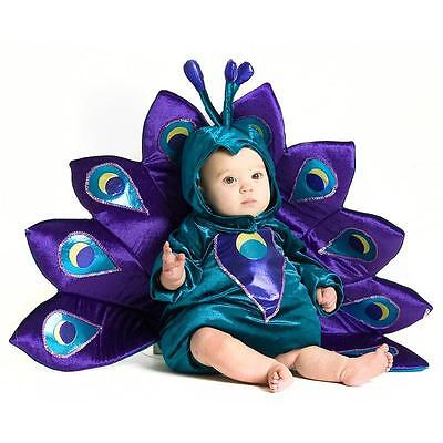 Baby Peacock Infant Toddler Halloween Costume](Peacock Infant Halloween Costumes)