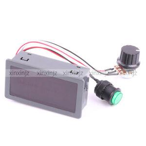 Digital display led 6v 12v 24v pwm dc motor controller for Variable speed dc motor control