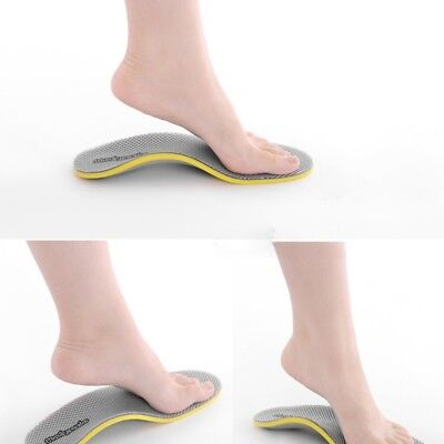 3D Ortic Foot  Premium Flat feet High Arch Support Insoles Cuttable Pad