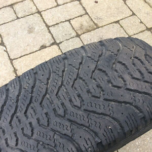 Goodyear Nordic Winter Tires P215/55R17 London Ontario image 4