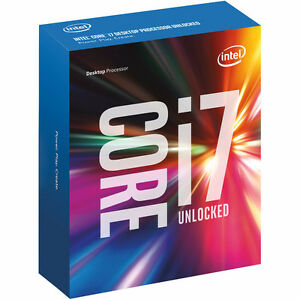 LNIB Intel Core I7-6700K Quad Core CPU 4.0 GHz with 4.2GHz Turbo
