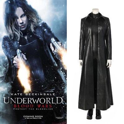 Underworld: Blood Wars Vampire Warrior Selene Cosplay Costume Halloween Outfit  - Underworld Costumes Halloween