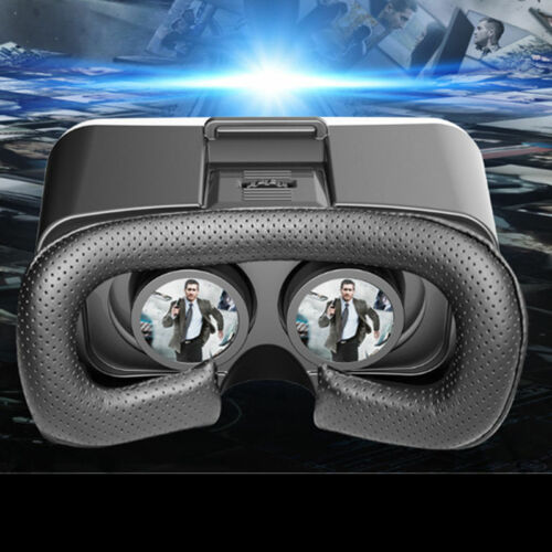 "3D Virtual Reality Video Movie Glasses for 4""-6"" iPhone X 8 7 Plus 6S Samsung LG"