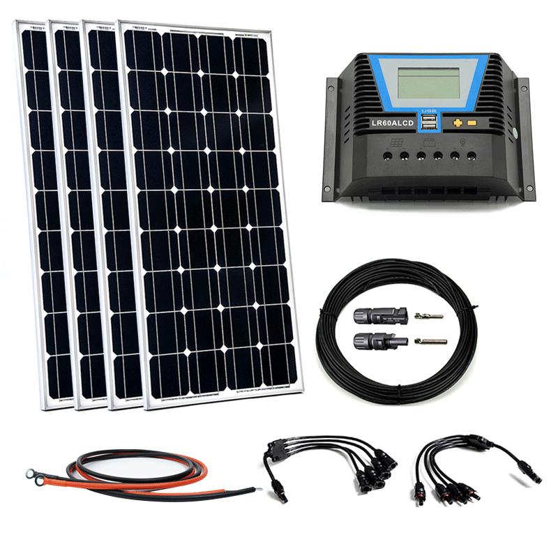 Photovoltaik Hausanlagen Offgridtec Bs M 80w 12v Solar Bausatz Set Kleine Solaranlage Garten Heimwerker Jung Israel Org
