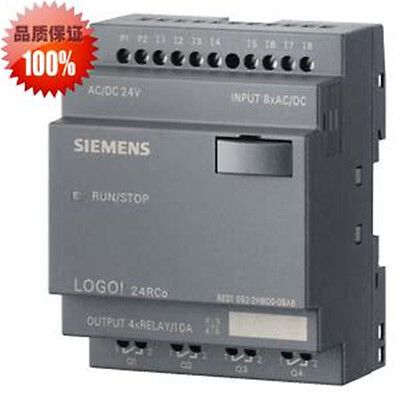 Siemens Logo Plc 24v Dcrelay 8 Di 4ai4 Do New In Box 6ed1052-2hb00-0ba6
