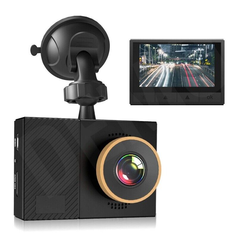 Car Camera Video Surveillance Dash 1080P Recorder Cam G-Sensor Night Vision US