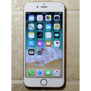 Apple iPhone 6s 32GB unlocked used white rose gold works good