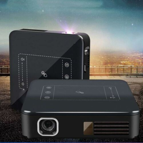 Details about New 2G+16G DLP Projector Android 7 1 WIFI HDMI HD 4K 5000  Lumens Media Player SD