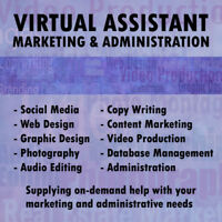 Marketing and Admin Services, virtual or in person in Vancouver