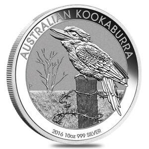 Pièce en argent/silver bullion Kookaburra 2016 1 oz .999
