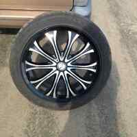 20 in wheels and tires very good condition