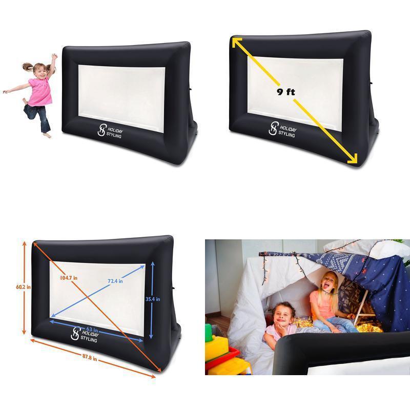 Movie Screen Mini Portable Indoor Outdoor Projector Screen P
