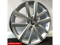 "18"" Vancouver Alloy wheels and tyres for Golf MK5, MK6, MK7, Jetta Etc"