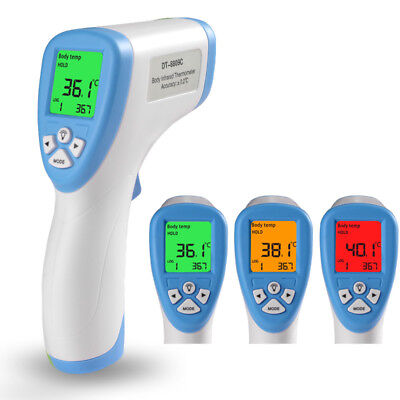 Digital Thermometer Ir Infrared Baby Body Lcd Non-contact Laser Temperature Gun
