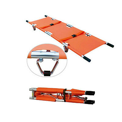 Foldable Medical Bed Stretcher Ambulance Emergency Portable Rescue Patient Bed