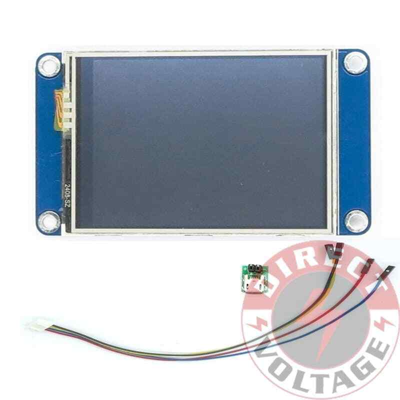 "Nextion NX3224T024 - Generic 2.4"" TFT LCD Touch Display"