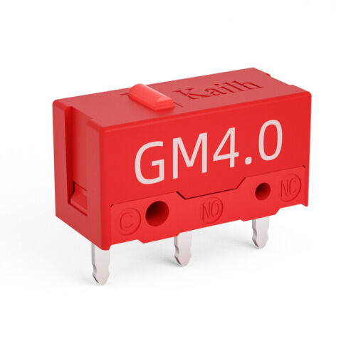 2 PACK Kailh GM Red Micro Switch for Gaming Mouse Button – 60 Million Clicks Computers/Tablets & Networking