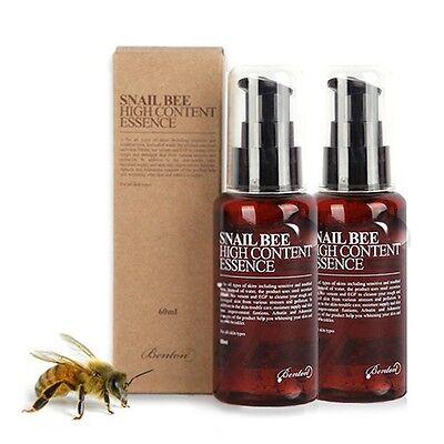 [BENTON] [1+1] Snail Bee High Content Essence 60ml / BEST Korea Cosmetic