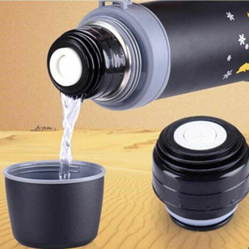 Vacuum Flask Lid Thermos Cover Mini Portable Traveling Mug A