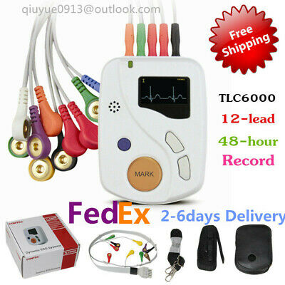 12-channel 12-lead Ecgekg Holter Systemrecorder Monitor Analyzer Software Us