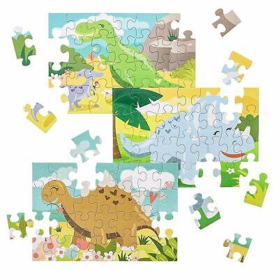 Juvale 36-Pack Bulk Dinosaur Jigsaw Puzzle Gift For Kids 28-