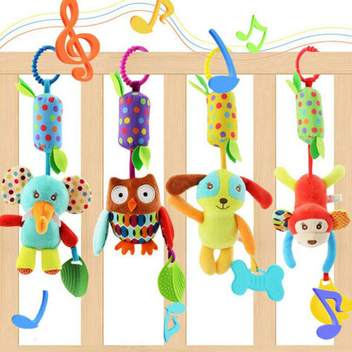 Baby Infant Stroller Hanging Toy Cradle Bed Car Rattle Anima