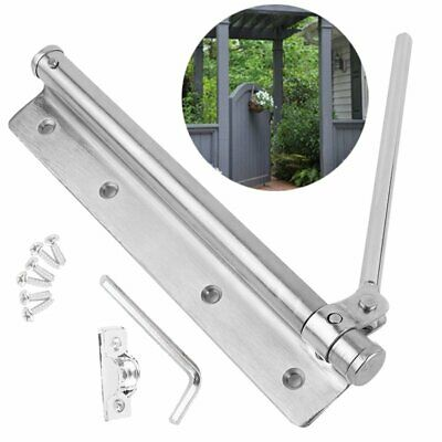 Ferme-porte Stainless Steel Adjustable Surface Mounted Auto Closing Door Closer