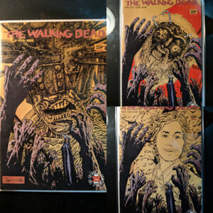 The Walking Dead Sketch Covers
