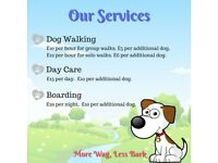 Dog Tails Pet Services. Walking, Day Care and Boarding.