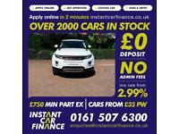 Land Rover Range Rover Evoque 2.2eD(150bhp)2014MY Pure TECH FROM £104 PW