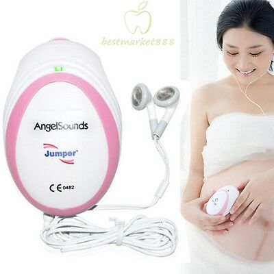 Fda Ce Approved Fetal Angelsounds Prenatal Heart Rate Monitor Doppler 3mhz