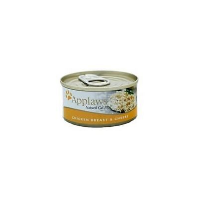 Chicken and Cheese Cat Food Tin  by Applaws (70g) (Pack of 4)