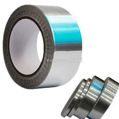 12mm Aluminum Foil Joint Sealing Radiation Thermal Resist Emi Mask Adhesive Tape