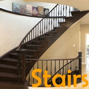 Wrought iron railing material | Stairs manufacture & supplies